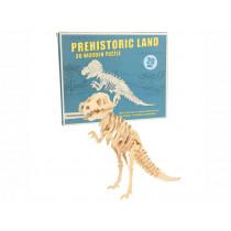 Rex London 3D Wooden Dinosaur Puzzle TYRANNOSAURUS