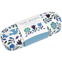 Rexinter glasses case and cloth FOLK DOVES