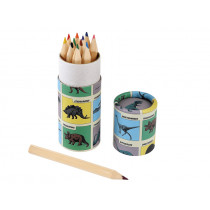 Rexinter 12 Colour Pencils DINOSAURS