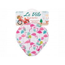 Rex London Bicycle Seat Cover FLAMINGO