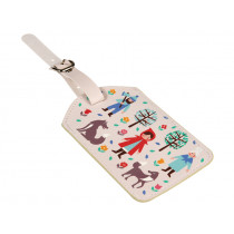 Rex London Luggage Tag RED RIDING HOOD