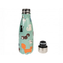 Rex London Stainless Steel Bottle NINE LIVES 260 ml