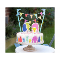 Rex London Cake Topper MONSTERS