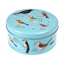 Rex London Cake & Biscuit Tin GARDEN BIRDS