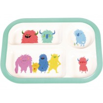 Rex London Melamine Tray Plate MONSTER