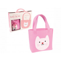 Rex London Tote Bag Sewing Kit COOKIE THE CAT