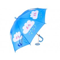 Rex London childrens umbrella HAPPY CLOUDS