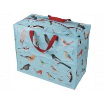 Rex London Jumbo Storage Bag GARDEN BIRDS