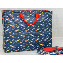 Rex London Jumbo Storage Bag SPACE AGE ROCKET