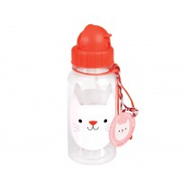 Rex London kids water bottle COOKIE THE CAT