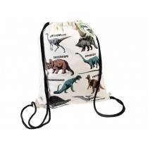 Rex London Drawstring Bag DINOSAUR