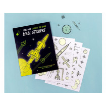 Rex London Glow in the Dark Wall Stickers SPACE AGE