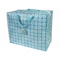 Rex London Jumbo Storage Bag FRIENDSHIP blue