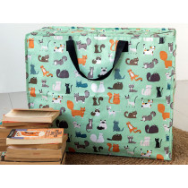 Rex London Jumbo Storage Bag NINE LIVES
