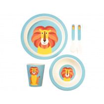 Rex London Bamboo Tableware Set LION