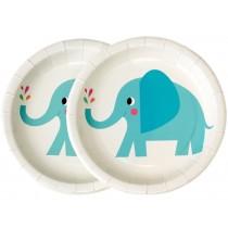 Rexinter Paper Plates ELEPHANT