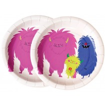 Rexinter Paper Plates MONSTERS