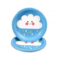 Rexinter Paper Plates HAPPY CLOUD