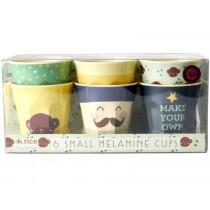 RICE Small Melamine Cups MONKEY