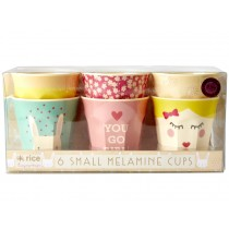 RICE Small Melamine Cups RABBIT