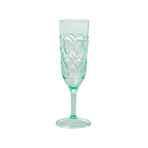 RICE Acrylic Champagne Glass GREEN