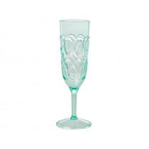 RICE Acrylic Champagne Glass GREEN