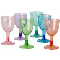 RICE picnic wine glasses with glitter