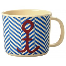RICE baby cup sailor stripe and anchor