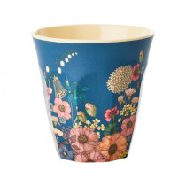 RICE Melamine Cup FLOWER COLLAGE