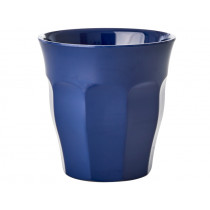 RICE Melamine Cup navy blue