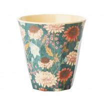 RICE Melamine Cup AUTUMN FLOWERS