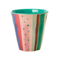 RICE Melamine Cup LUISE'S STRIPES