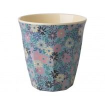 RICE Melamine Cup Small Flowers