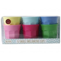 RICE Small Melamine Cups CLASSIC Colors