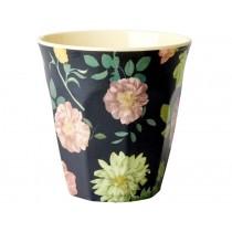 RICE Melamine Cup DARK ROSE