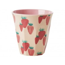 RICE Melamine Cup STRAWBERRIES