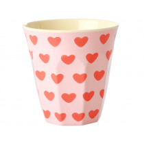 RICE melamine cup SWEET HEARTS
