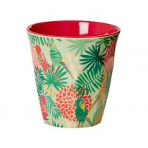 RICE melamine cup tropical print