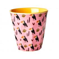 RICE Melamine Cup TOUCAN