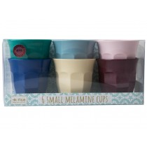 RICE Small Melamine Cups URBAN Colors