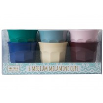 RICE Melamine Cups URBAN Colors