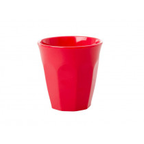 RICE Melamine Espresso Cup Red Kiss
