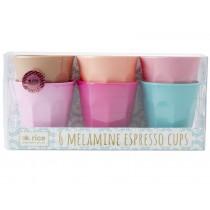 RICE Melamine Espresso Cups LBC colors