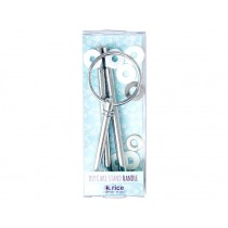 RICE Tier DIY Cake Stand Rod SILVER