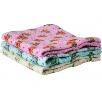 RICE Guest Towel with ROSE PRINT