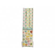 RICE wrapping paper Pineapple and Tutti Frutti prints