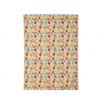 RICE Tea towel with tutti frutti print