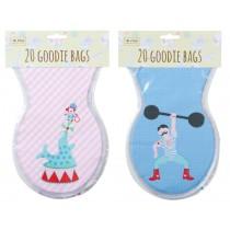 RICE goodie bags circus