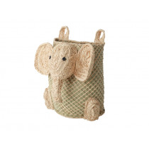 RICE Seagrass Hanging Basket ELEPHANT
