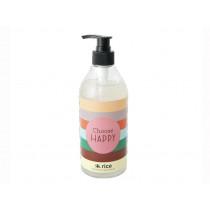 RICE Hand Soap Aloe Scent CHOOSE HAPPY